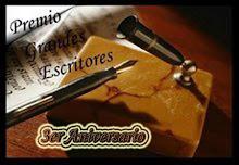 """""""PREMIO GRANDES ESCRITORES"""""""