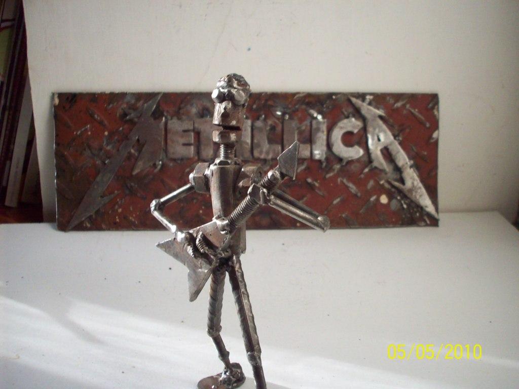 Mis esculturas metaleras para taringa--propio