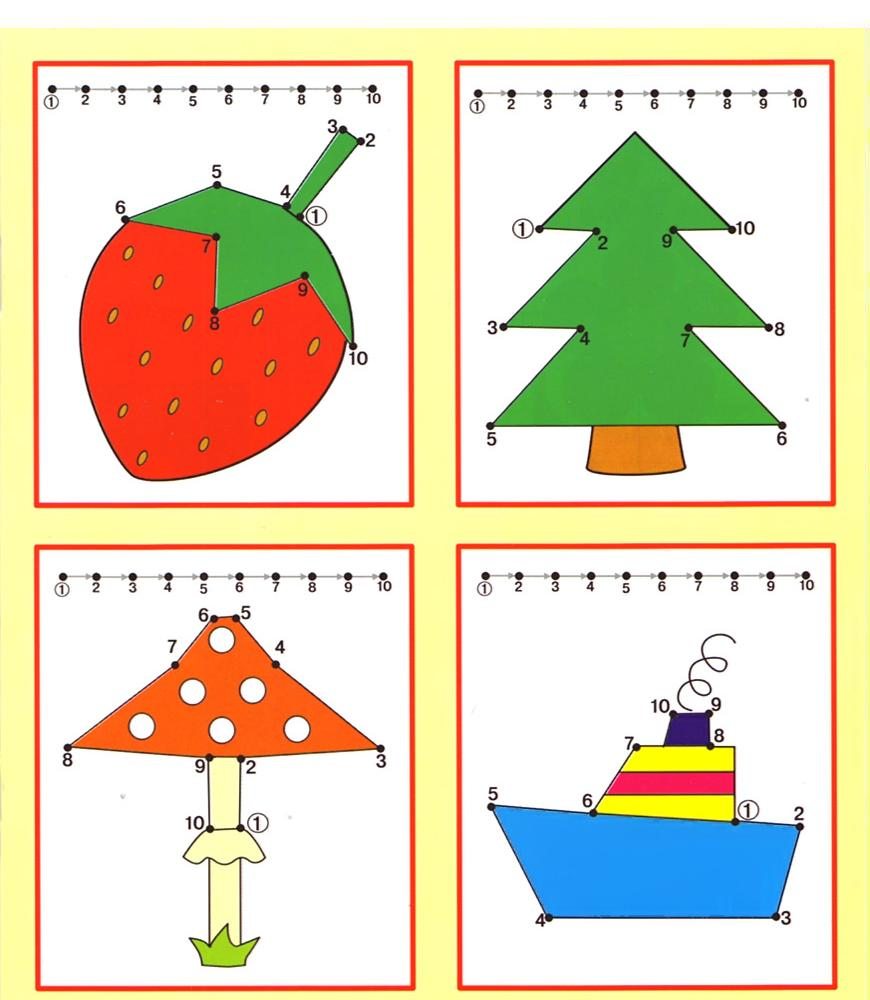 Kids Under 7 Free dot to dot worksheets for kids Part 2 – Free Dot to Dot Worksheets