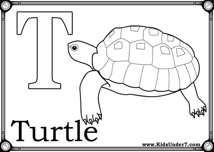 t coloring pages preschool - photo #33