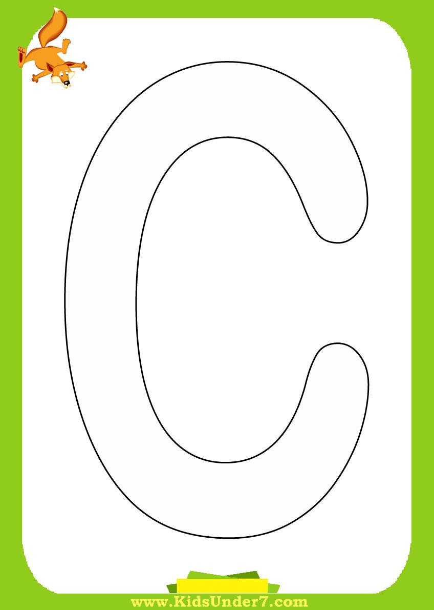 Азбука английского языка раскраска