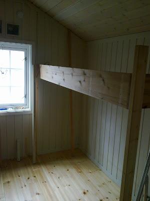 Beva's interiørgleder: hytte soverom.