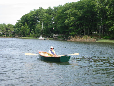 Rowing Jimmy Skiff