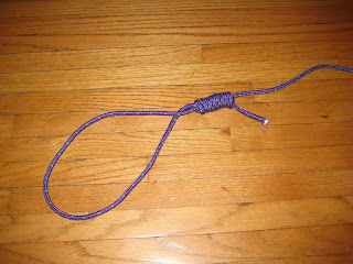 how to make hangman knot