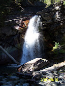 Waterfall in Glacier Natl Park