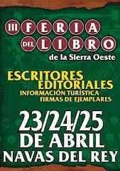 III Feria del libro de la Sierra Oeste