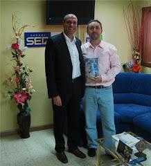Con José Manuel Contreras (Cadena Ser)