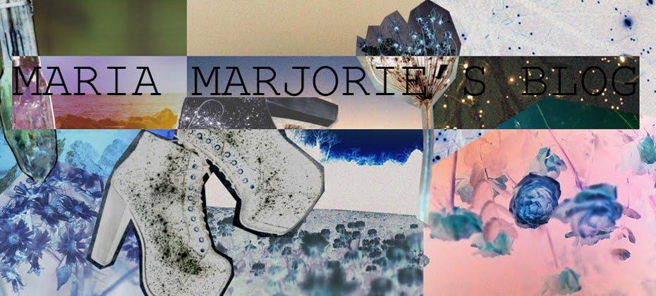 MARIA MARJORIE'S BLOG