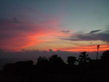 le mexique est kitsch même dans ses couchers de soleil