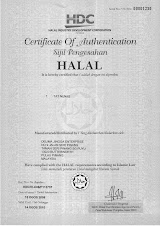 HALAL HDC Certificate