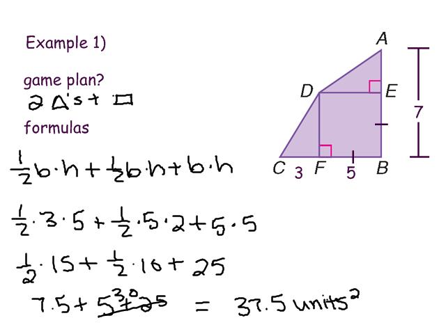 archived blogs 114 Area of Irregular Polygons – Area of Irregular Polygons Worksheet