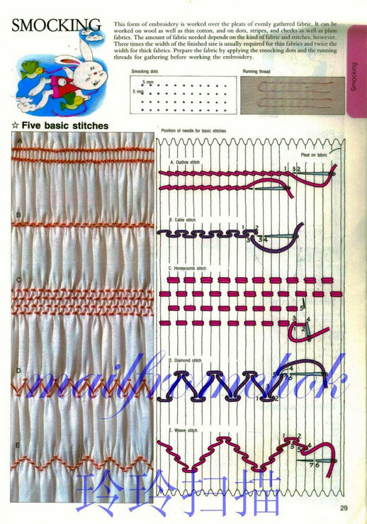 Nihon vogue basic embroidery my love crochet art