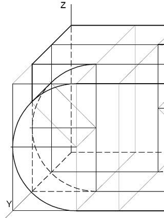 Cuaderno de dibujo t cnico ejercicio 37 sistema axonom trico for Croquis un libro de arquitectura para dibujar pdf