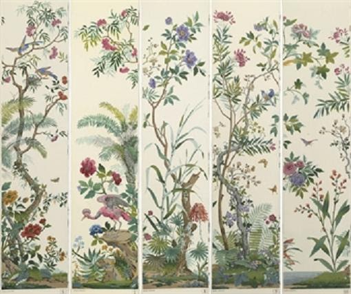 the downeast dilettante favorite wallpaper zubers decor chinois - Wallpaper Decor