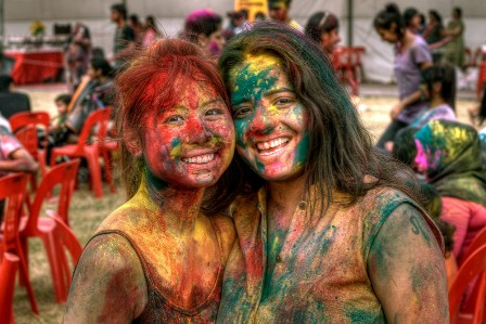 wallpaper holi desktop. Holi - is a festival of colors