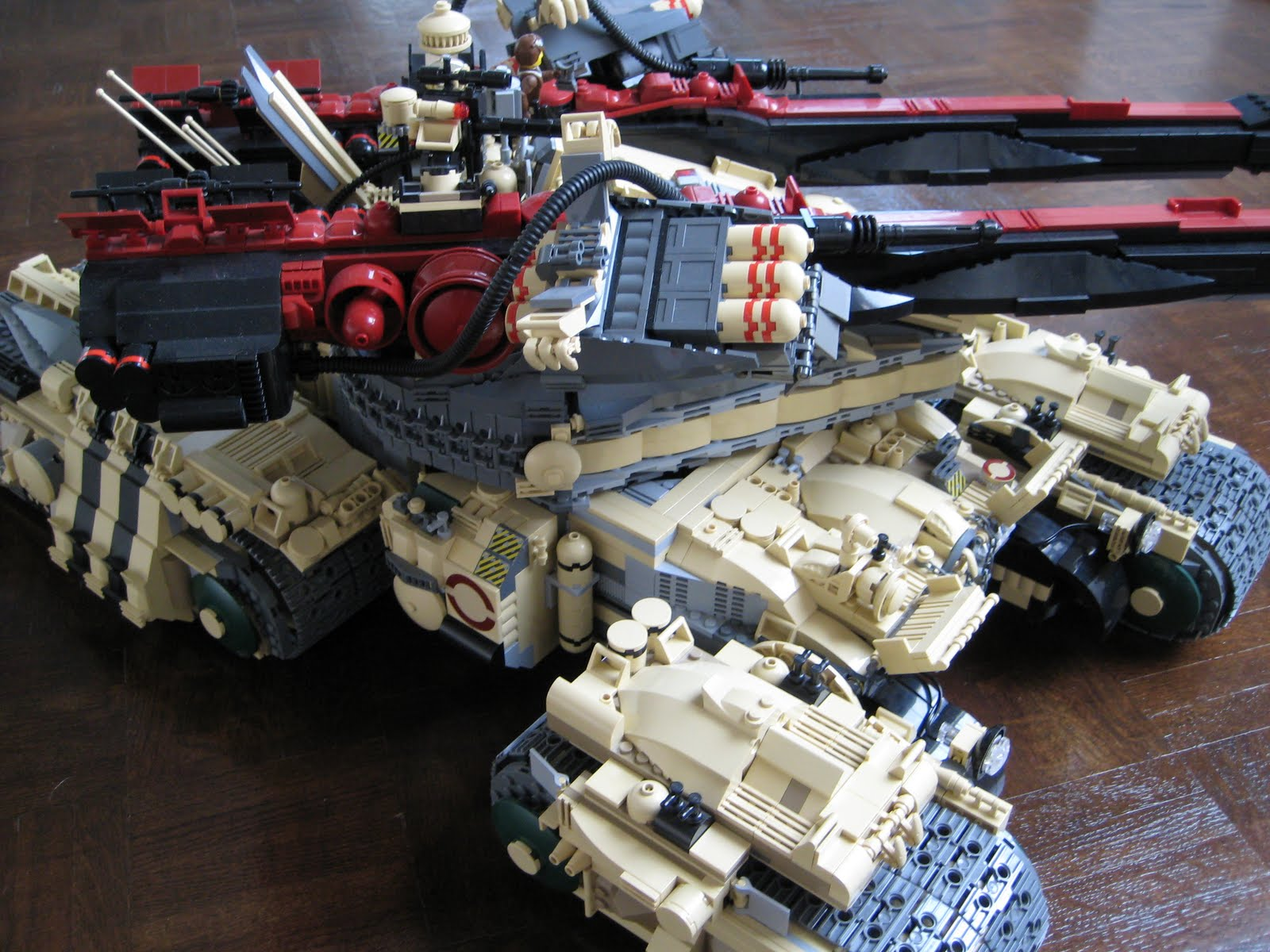 lego technic tank instructions