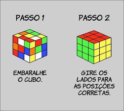 como montar um cubo mágico!