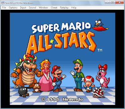melhor do Super Nintendo: Emulador Snes9x 1.51 - PC Windows