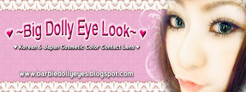 Barbie Eye Color Contact Lens
