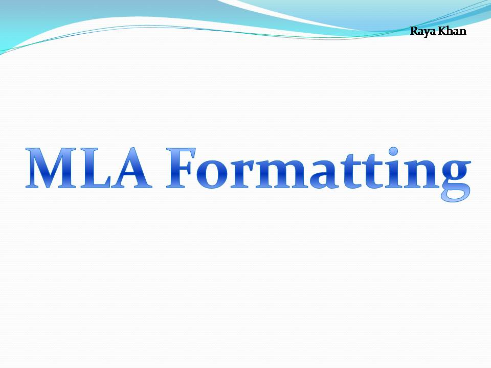 mla format for documentary See how to format works-cited list and how to format in-text citations with the 8th edition of the mla handbook.