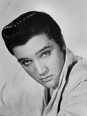 Elvis Presley, the legend of rock n roll