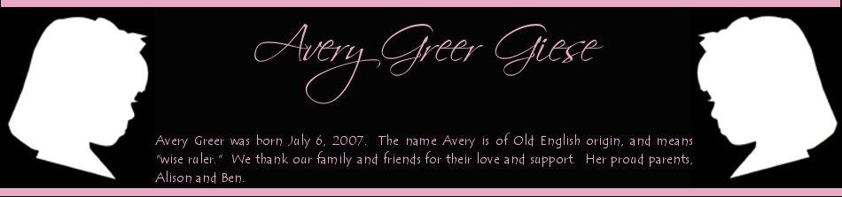 Avery Greer Giese