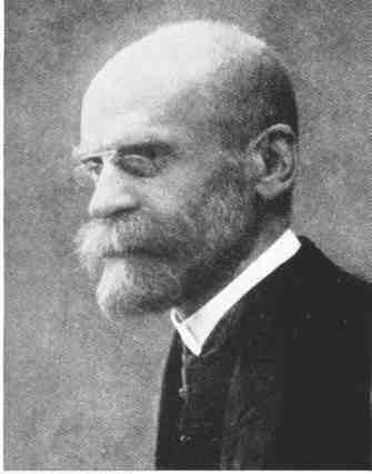 the french sociologist emile durkheim is most identified with which area of study