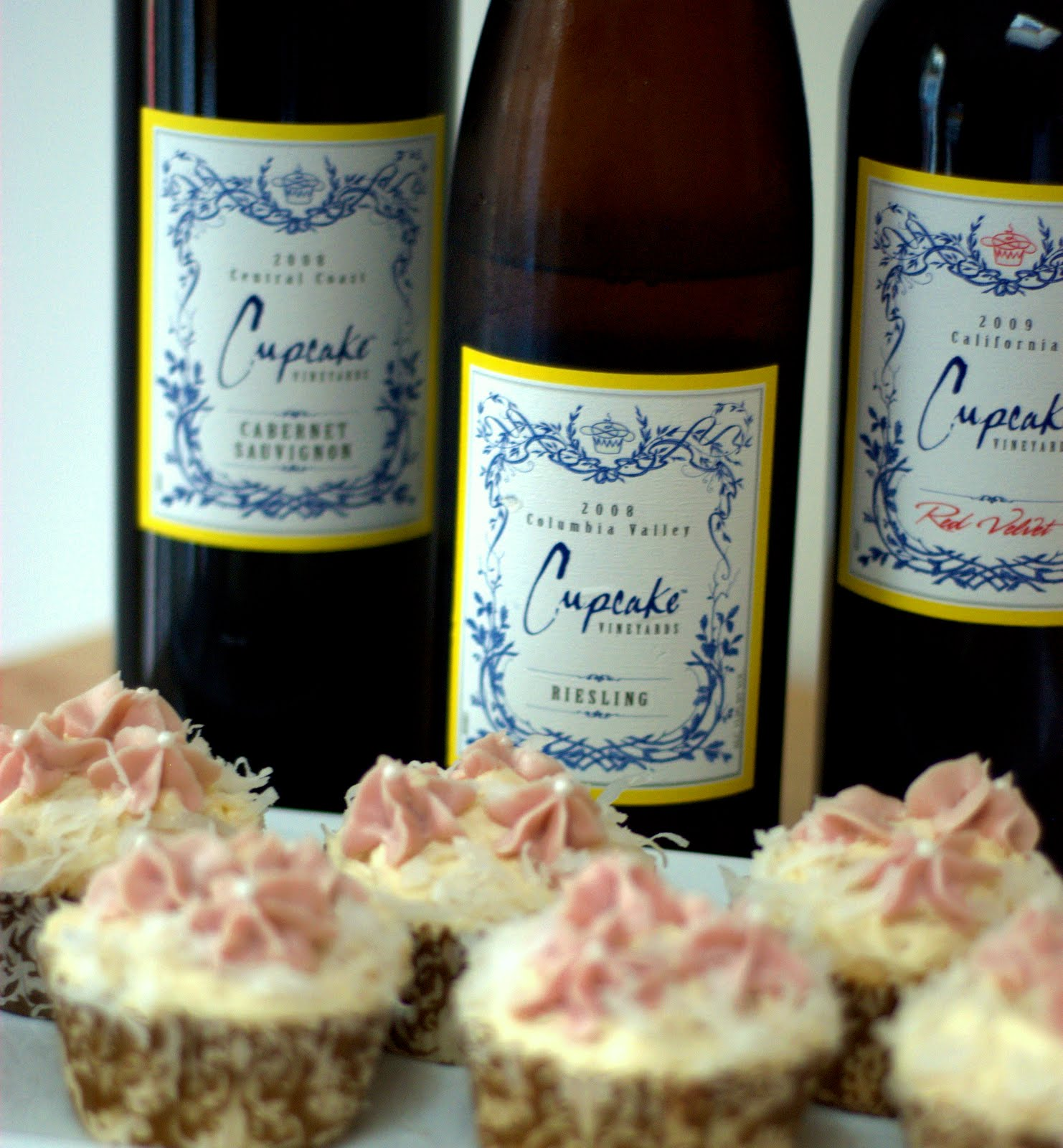 Coconut Cupcakes with Cream Cheese Frosting | Mother's Mementos