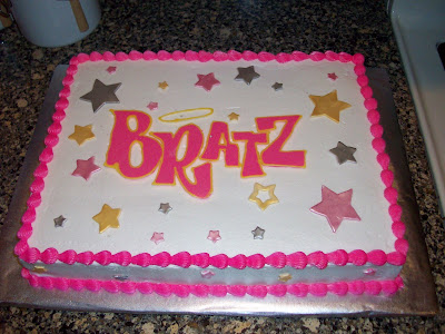 Com Bratz Cake Ideas and Designs