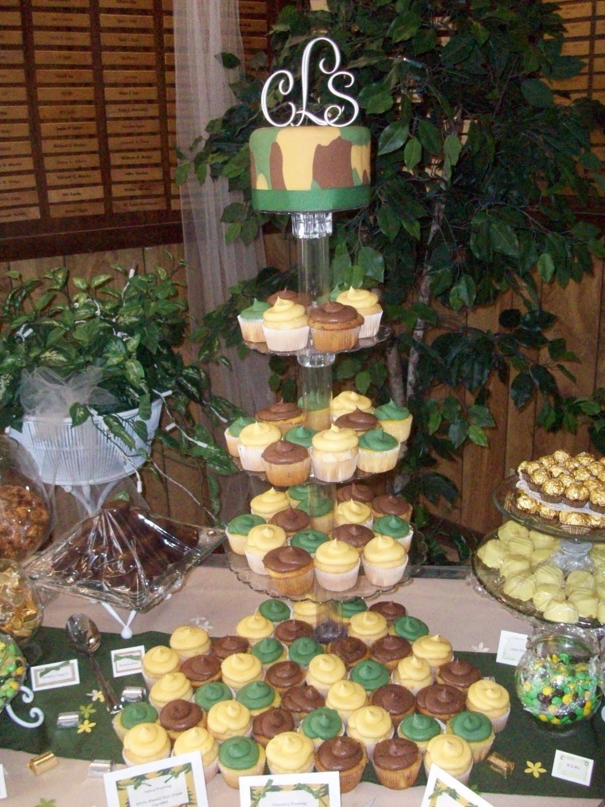 Morgan's Cakes: Camo Wedding
