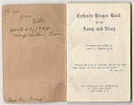 Walter Casimer Beresh's Army Issue Prayer Book