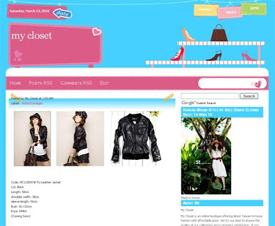 Korean Fashion Shop Malaysia on Buy Clothes Online For Korean And Taiwan Fashion In Malaysia