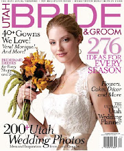 Published in 2010 Utah Bride &amp; Groom Magazine