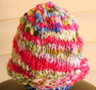 Free Hat Pattern: Rolled-Brim Bulky Hat