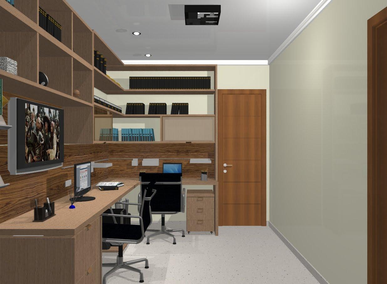 Arquitetura designer escritorio em casa - Escritorios para casas ...