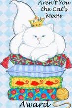 Cat's meow award