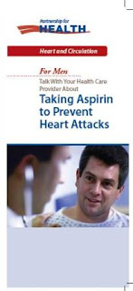 Talk With Your Health Care Provider About Taking Aspirin to Prevent Heart Attacks