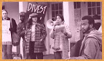 South Africa Divestment Protest at Rutgers in the 1980s