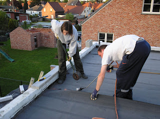 Dampscherm plat dak prijs