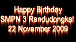 22 November HUT SMPN 3 Randudongkal ke 24