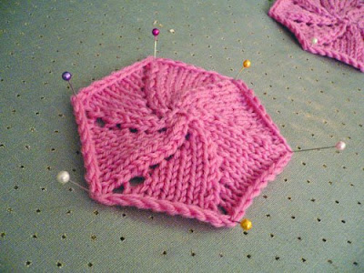 Tutorial   Spiral Knitting for Hexagon and Octagon   Cotton and Cloud