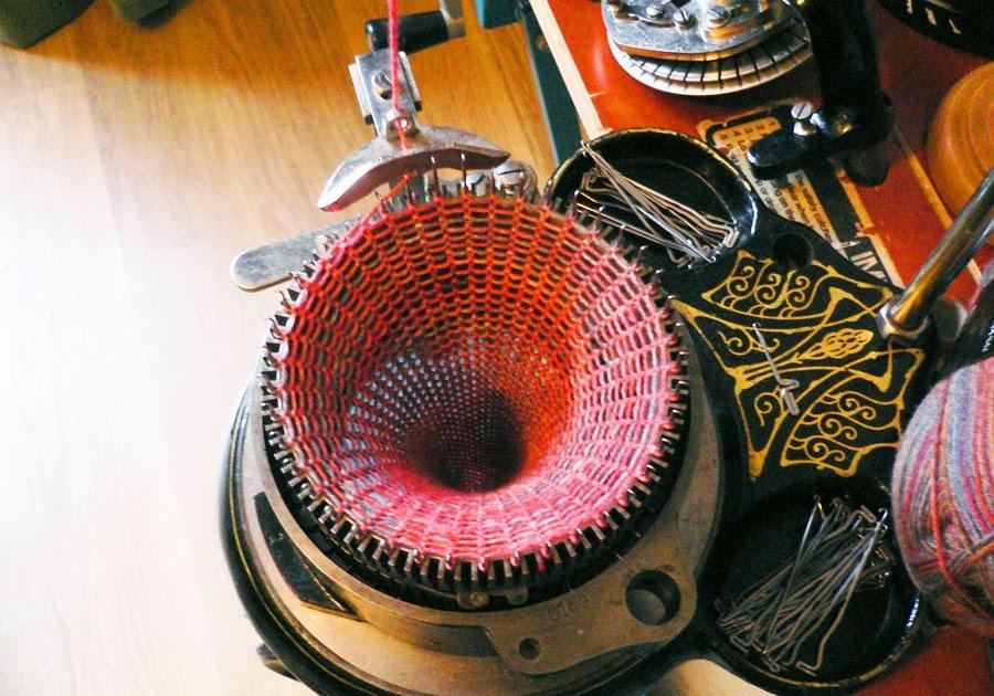 Knitting Equipment London : In london sock knitting machine