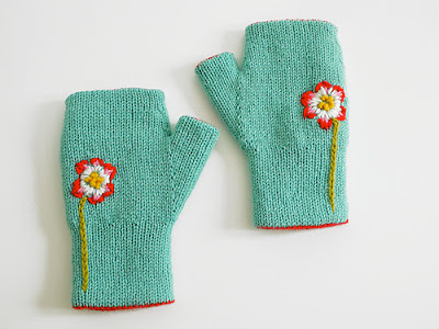Gloves Knitting Pattern For Kids Cabled Fingerless – kootation.com