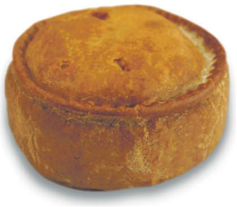 pork pie is a traditional british meat pie made from seasoned pork ...