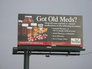 Billboard for Got Old Med?