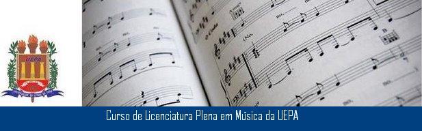 Curso de Licenciatura em Música - UEPA