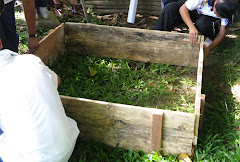Are you interested to purchase a wooden frame for your garden waste composting?