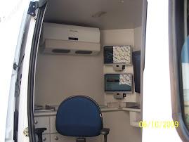 Sistema de monitoramento embarcado.