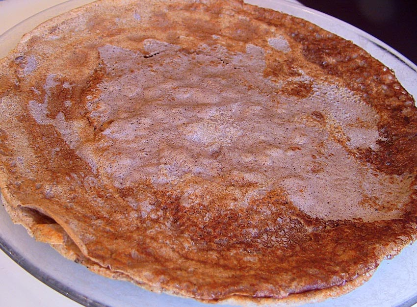 Living the life in Saint-Aignan: Breton-style buckwheat pancakes