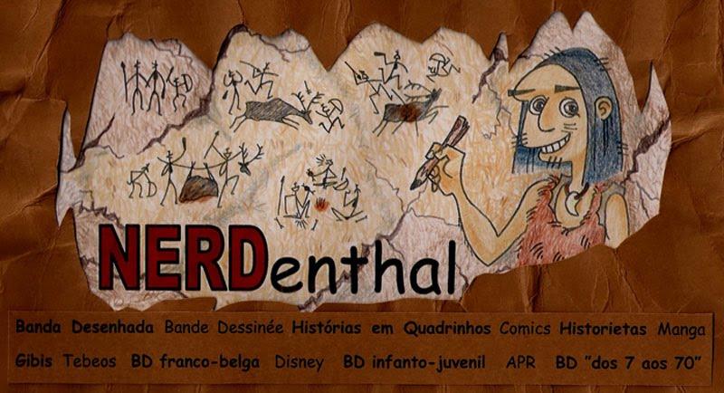 NERDenthal - Banda Desenhada